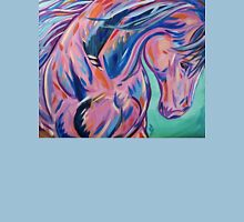 """Colorful Horse Painting """"Prancing Sky"""" Unisex T-Shirt"""