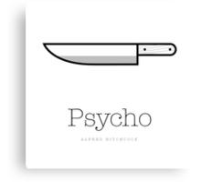 Psycho II Canvas Print