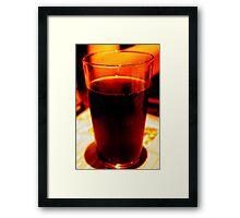 liquid life Framed Print