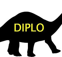Diplo - Mad Decent - Diplodocus Logo  by EProductions