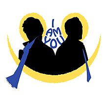 Sherlock and Moriarty - I am You Photographic Print