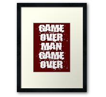 Aliens - Game Over Man, Game Over Framed Print