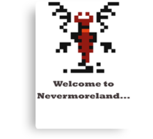 Shadow Fiend - Welcome to Nevermoreland Canvas Print