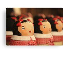 doll bow...keh Canvas Print