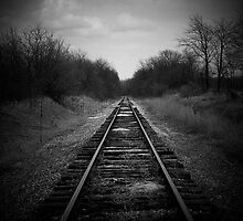 Scene of a old railroad by jammingene
