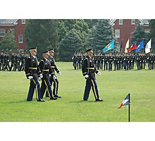 US Army 3d Infantry Regiment - The OLD GUARD - Pass in Review Photographic Print