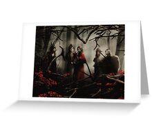 Darkness Has Fallen - Queens of Darkness and Rumple Greeting Card
