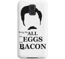 Ron Swanson (Eggs & Bacon) Samsung Galaxy Case/Skin
