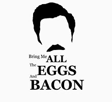 Ron Swanson (Eggs & Bacon) Unisex T-Shirt