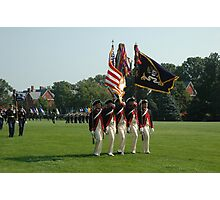 US Army 3d Infantry Regiment - Continental Color Guard Photographic Print