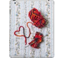 knitted with love iPad Case/Skin