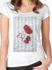 knitted with love Women's Fitted Scoop T-Shirt