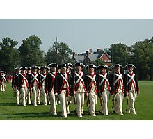 US ARMY 3d Infantry Regiment - Commander in Chief's Guard Photographic Print