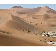 Namib Desert Dunes Photographic Print