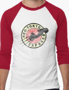 Neo-Tokyo Express (Vintage) Men's Baseball ¾ T-Shirt