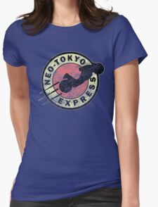Neo-Tokyo Express (Vintage) Womens Fitted T-Shirt