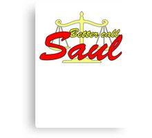 Better Call Saul - Logo Canvas Print