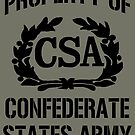 Property of Confederate States Army by Larry Oates