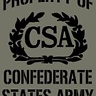 Property of Confederate States Army by ZeroAlphaActual