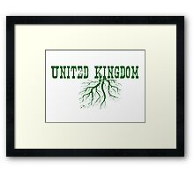 United Kingdom Roots Framed Print