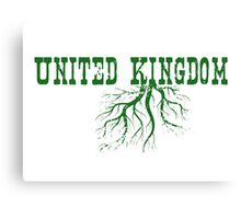 United Kingdom Roots Canvas Print