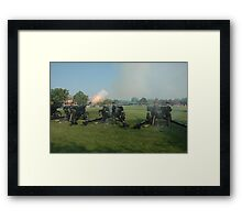 US ARMY 3d Infantry Regiment - The OLD GUARD - Presidential Salute Battery Framed Print