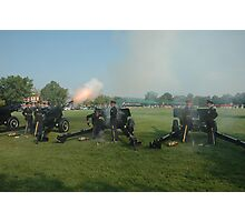 US ARMY 3d Infantry Regiment - The OLD GUARD - Presidential Salute Battery Photographic Print