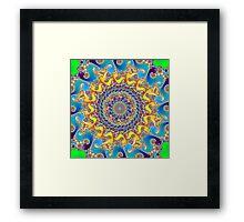 'Buddha Sun' Framed Print