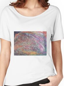 """""""Entanglement No.2"""" original abstract artwork by Laura Tozer Women's Relaxed Fit T-Shirt"""