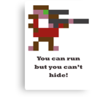 Sniper - You can run but you can't hide Canvas Print