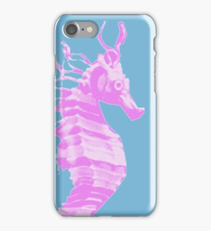 pink ponyfish iPhone Case/Skin