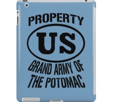 Property Grand Army of The Potomac iPad Case/Skin