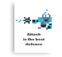 Spirit Breaker - Attack is the best defense Canvas Print