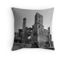 Wingfield Manor: Derbyshire Throw Pillow