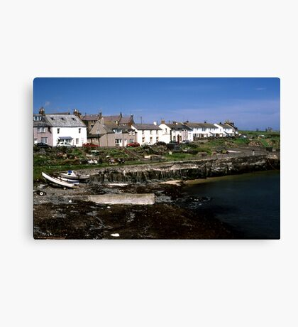 Craster, Northumberland Canvas Print
