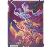 """Turbulence"" original abstract artwork by Laura Tozer iPad Case/Skin"