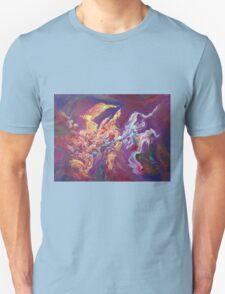 """Turbulence"" original abstract artwork by Laura Tozer Unisex T-Shirt"