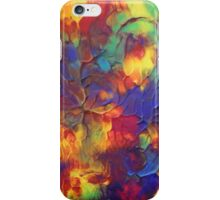 """Entropy"" original abstract artwork by Laura Tozer iPhone Case/Skin"