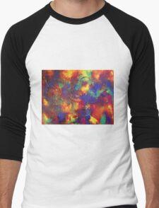 """Entropy"" original abstract artwork by Laura Tozer Men's Baseball ¾ T-Shirt"