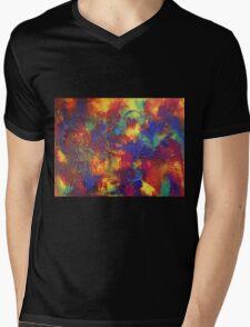 """Entropy"" original abstract artwork by Laura Tozer Mens V-Neck T-Shirt"