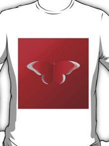 Red paper butterfly T-Shirt