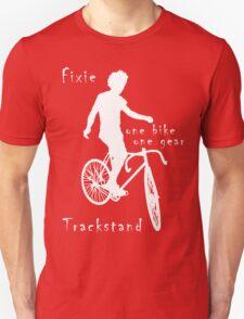 Fixie - one bike one gear - Trackstand (black) T-Shirt