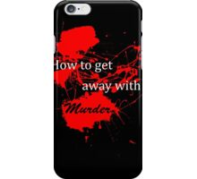 How to get away with murder - Logo iPhone Case/Skin