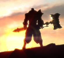 League Of Legends Jayce Power by Scalpedmonkey