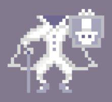 8-bit Hatbox Ghost - Haunted Mansion Kids Clothes