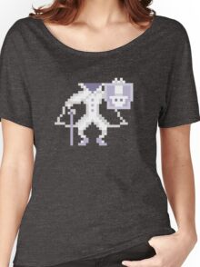 8-bit Hatbox Ghost - Haunted Mansion Women's Relaxed Fit T-Shirt