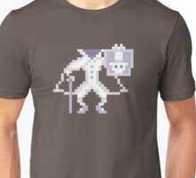 8-bit Hatbox Ghost - Haunted Mansion Unisex T-Shirt