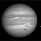 planet Jupiter seen with telescope by chord0