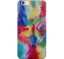 """Euphoria"" original abstract artwork by Laura Tozer iPhone Case/Skin"