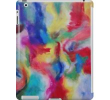 """Euphoria"" original abstract artwork by Laura Tozer iPad Case/Skin"